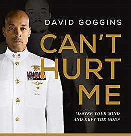 Image result for can't hurt me book